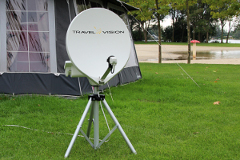 Watch satellite tv during camping