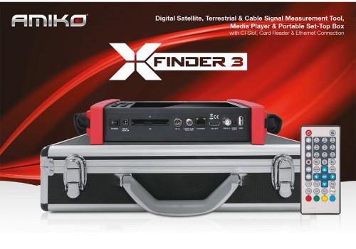 Amiko XFinder 3 met koffer
